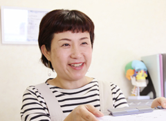 京都市山科区・椥辻 じじゅう接骨院の女性スタッフ